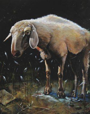 bestia-mistica-olio-su-tela-90-x-80-cm-2008-yaridg-painting