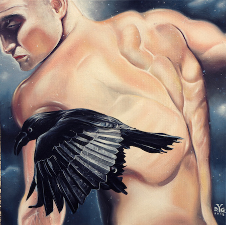 kairos-olio-50x50cm-2015-yaridg-illustration-canvas