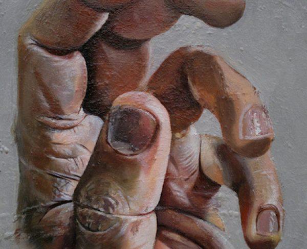 mano-12-olio-su-tela-35-x-30-cm-2012-yaridg-painting