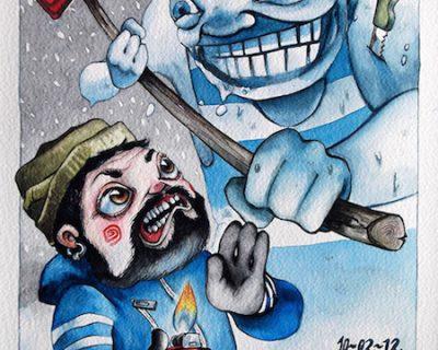 pu-pazzo-acquerello-su-carta-cotone-45-5-x-30-5-cm-2012-yaridg-illustration