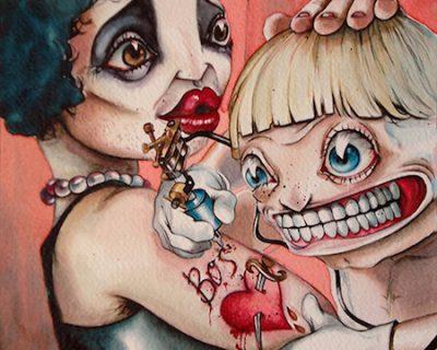 the-boss-acquerello-su-carta-cotone-45-5-x-30-5-cm-2012-yaridg-illustration