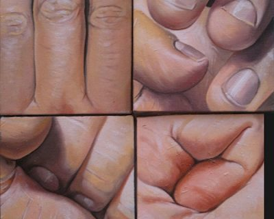 uno-nessuno-e-centomila-olio-su-tela-30-x-30-cm-2013-yaridg-painting
