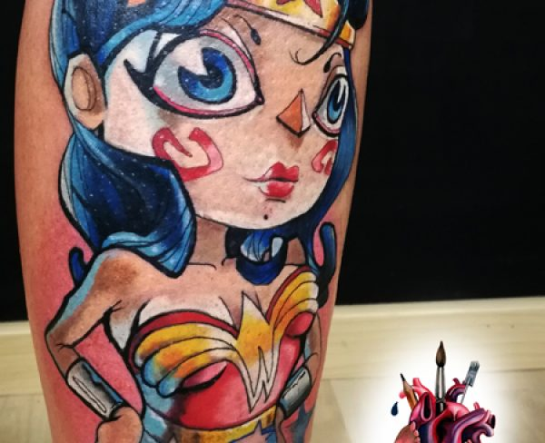 Wonder Woman Tattoo