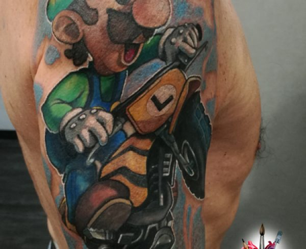Super Mario Tattoo